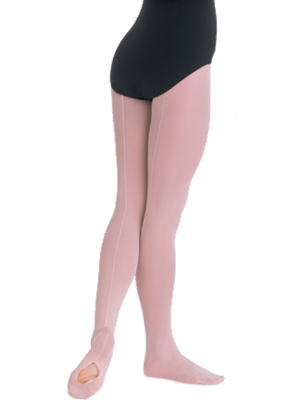Body Wrappers Adult Mesh Seamed Convertible Tights