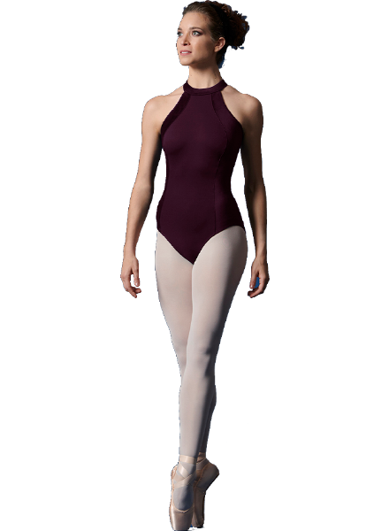 Bloch/Mirella/Leo Inc. Adult Velvet Halter Leotard
