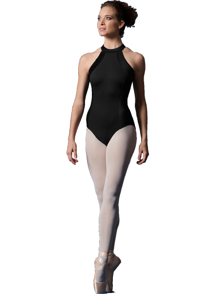 Bloch/Mirella/Leo Inc. Child Velvet Halter Leotard