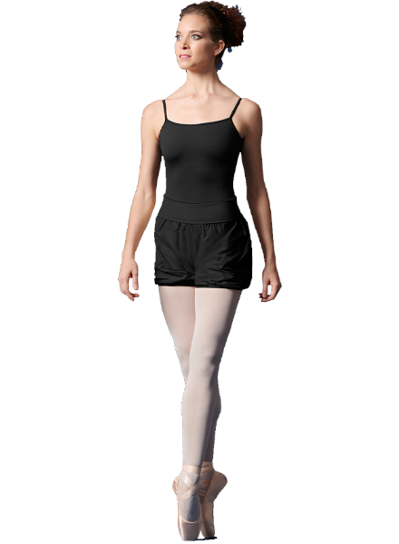 Bloch/Mirella/Leo Inc. Roll-Over Waistband Rip Stop Short