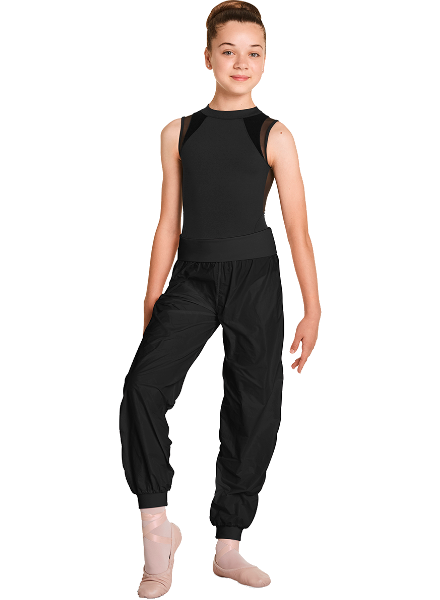 Bloch/Mirella/Leo Inc. Child Roll-Over Waistband Rip Stop Jogger
