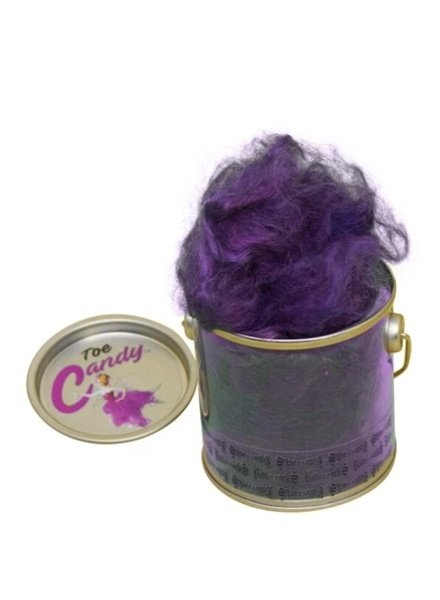 Can of Toe Candy: Scented Alpaca Wool