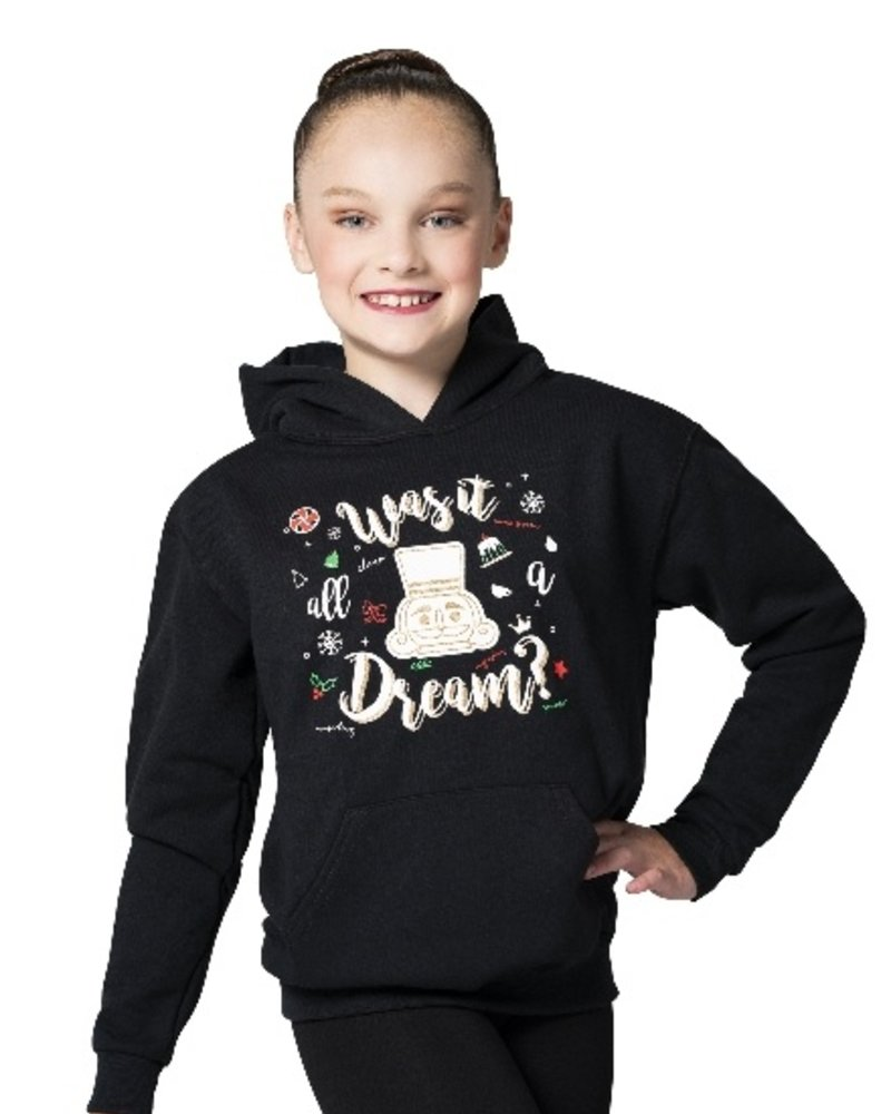 "Motionwear ""Was It All A Dream?"" Nutcracker Hoodie"