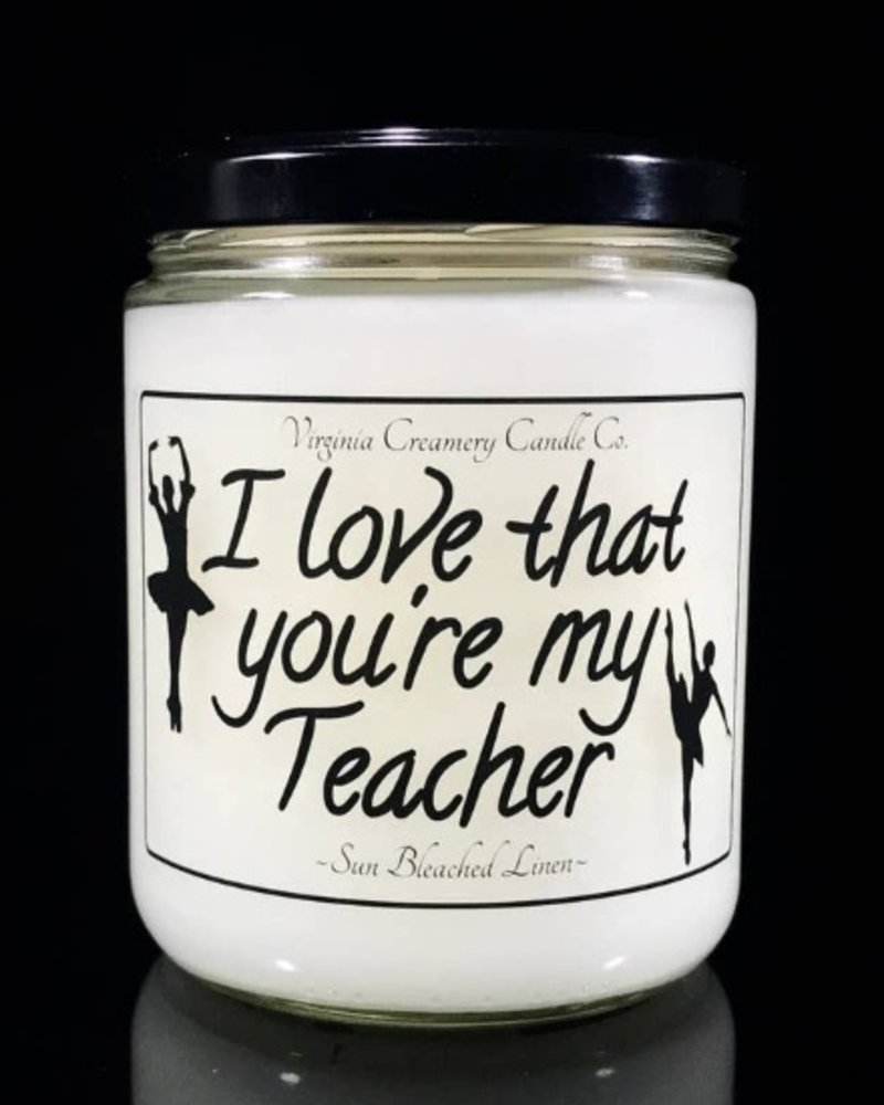I Love That You're My Teacher Soy Candle