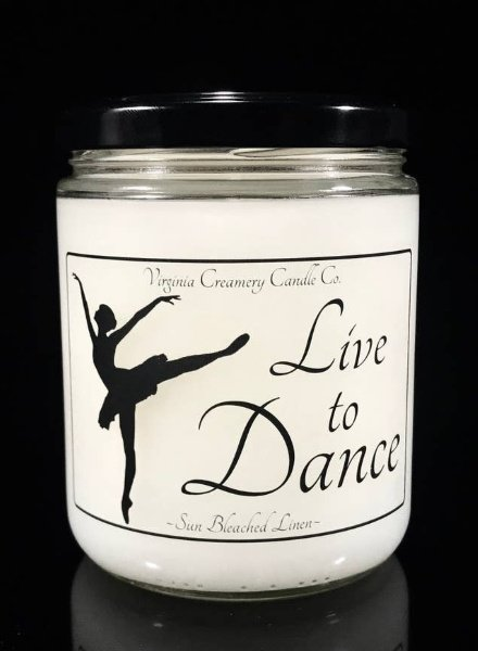 Live to Dance Soy Candle