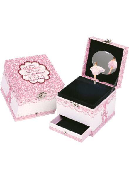Dance Your Heart Out Ballerina Music Box