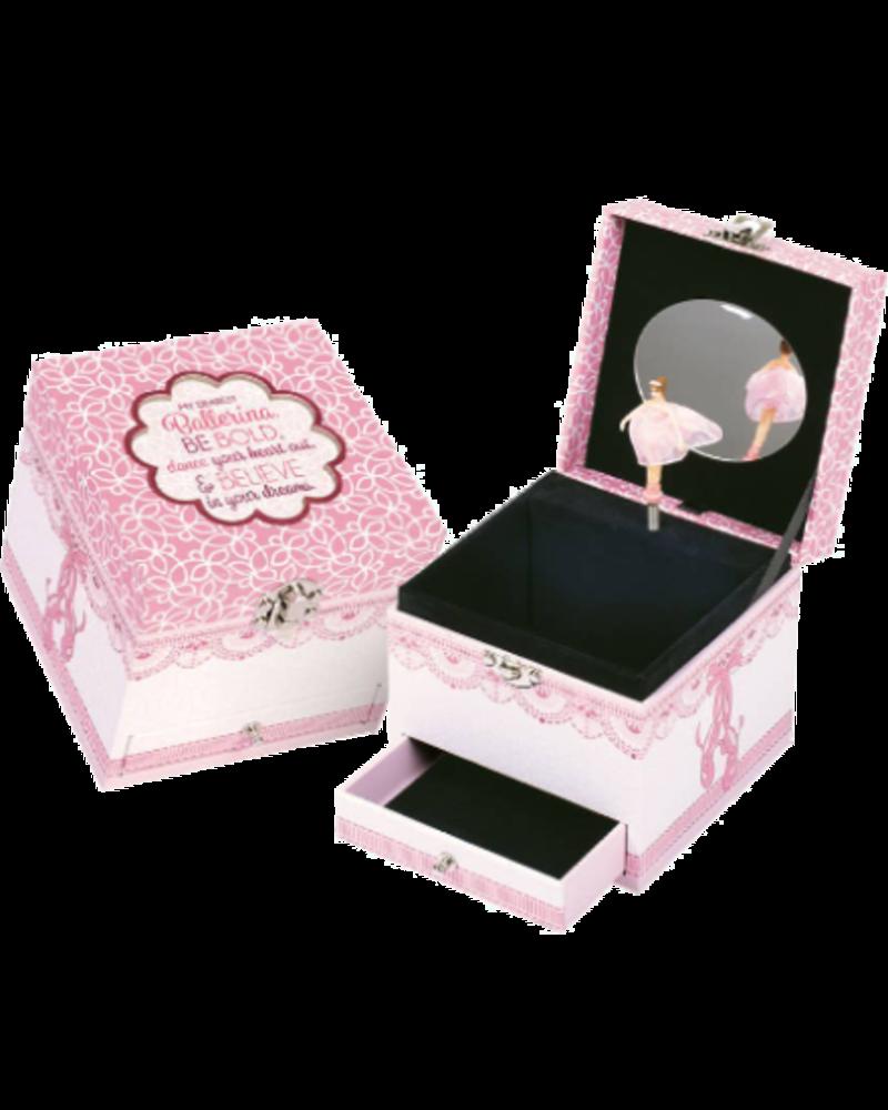 Dance Your Heart Out Ballerina Music Box