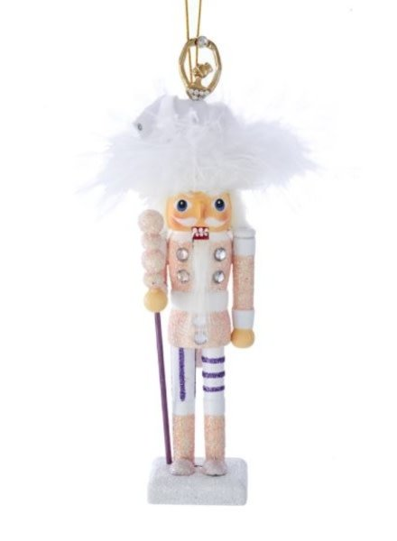 "6.5"" Hollywood™ Nutcracker with Ballerina Hat Ornament"