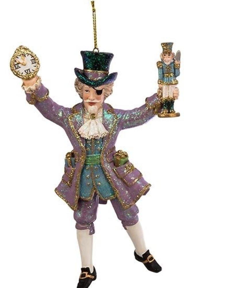 """6"""" Blue & Purple Nutcracker Suite Ornament"""