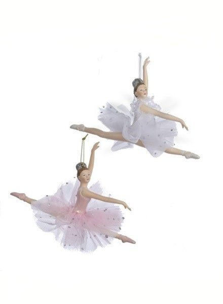 "5"" Leaping Ballerina Ornament"