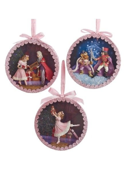 "5"" Nutcracker Suite Shadow Box Ornament"