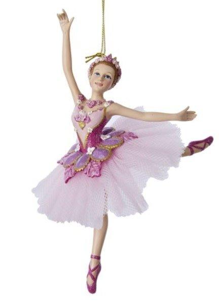 "7"" Sugar Plum Ballerina Ornament"