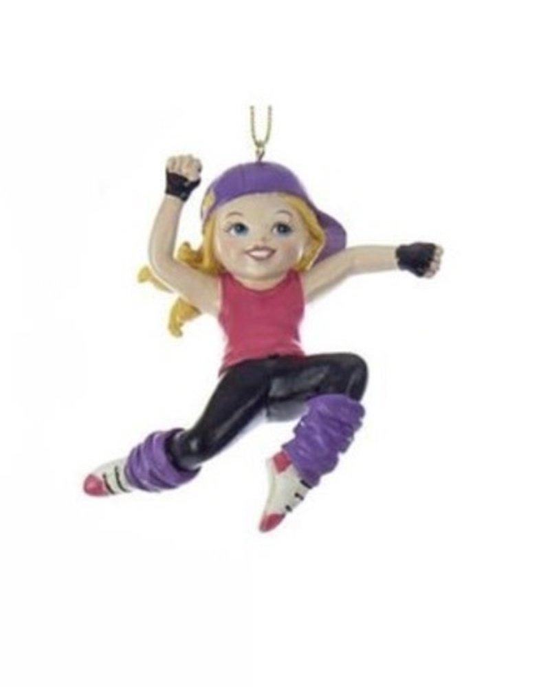 Hip Hop Girl Ornament