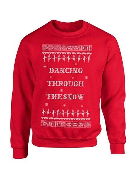 Covet Dance Dancing Through the Snow Sweatshirt