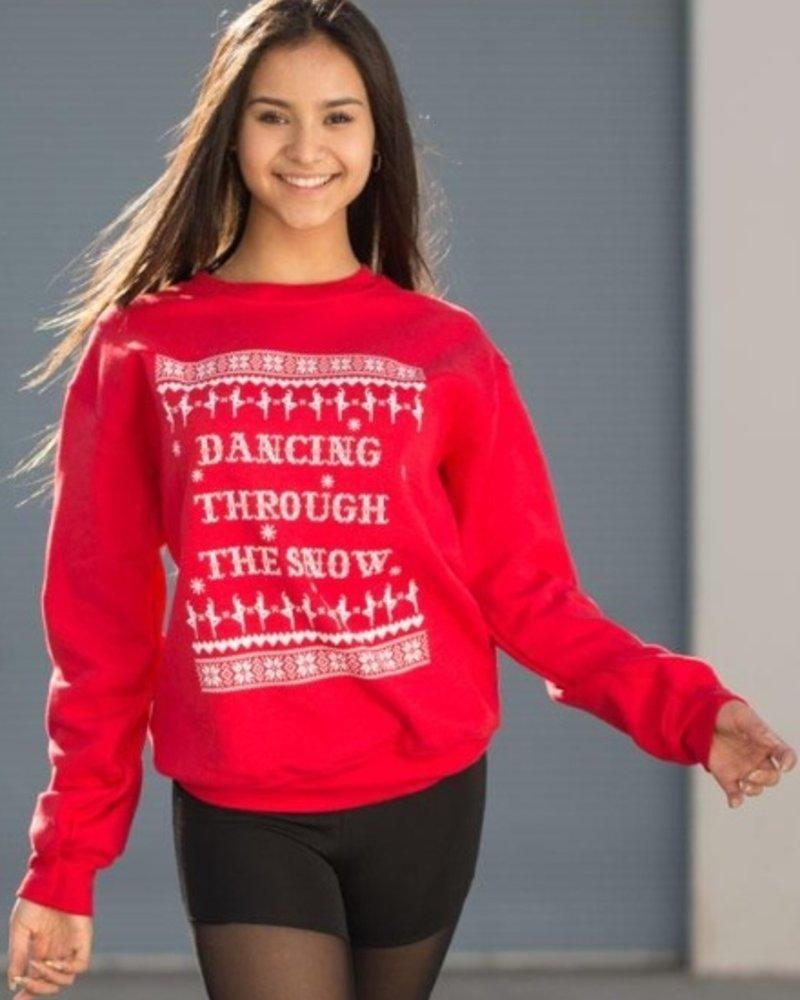 Covet Dance Dancing Through the Snow Sweatshirt