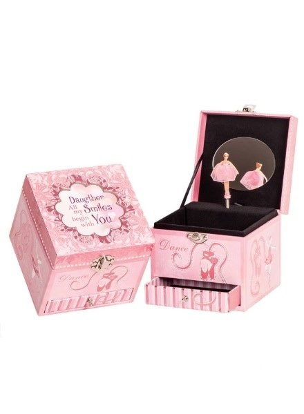 Daughter All My Smiles Begin With You Music Box