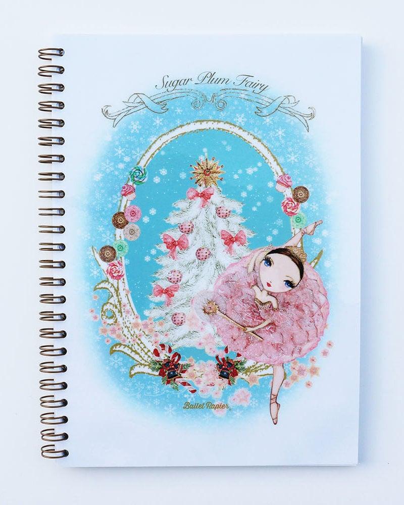 Ballet Papier Nutcracker Ballet Sugar Plum Fairy A5 Spiral Notebook