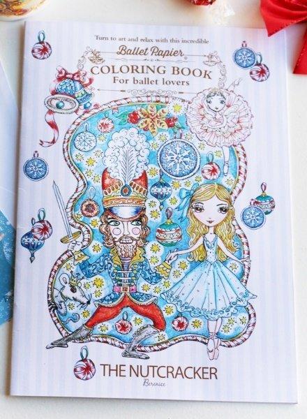 Ballet Papier The Nutcracker Coloring Book by Ballet Papier