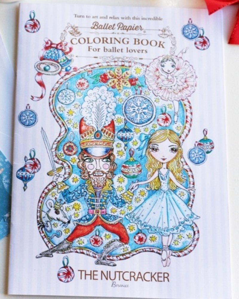 Ballet Papier The Nutcracker Coloring Book by Ballet Papier