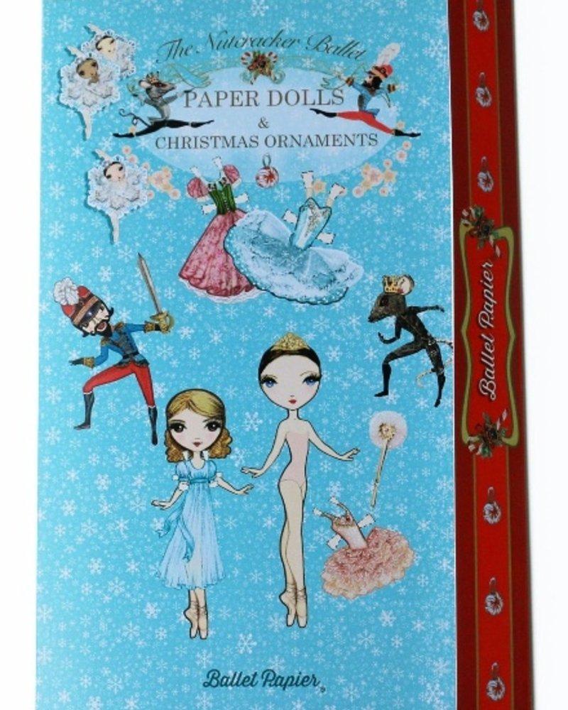 Ballet Papier The Nutcracker Ballet Paper Dolls & Ornaments
