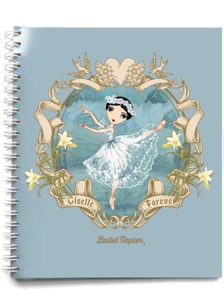 Ballet Papier Giselle Forever Spiral Notebook