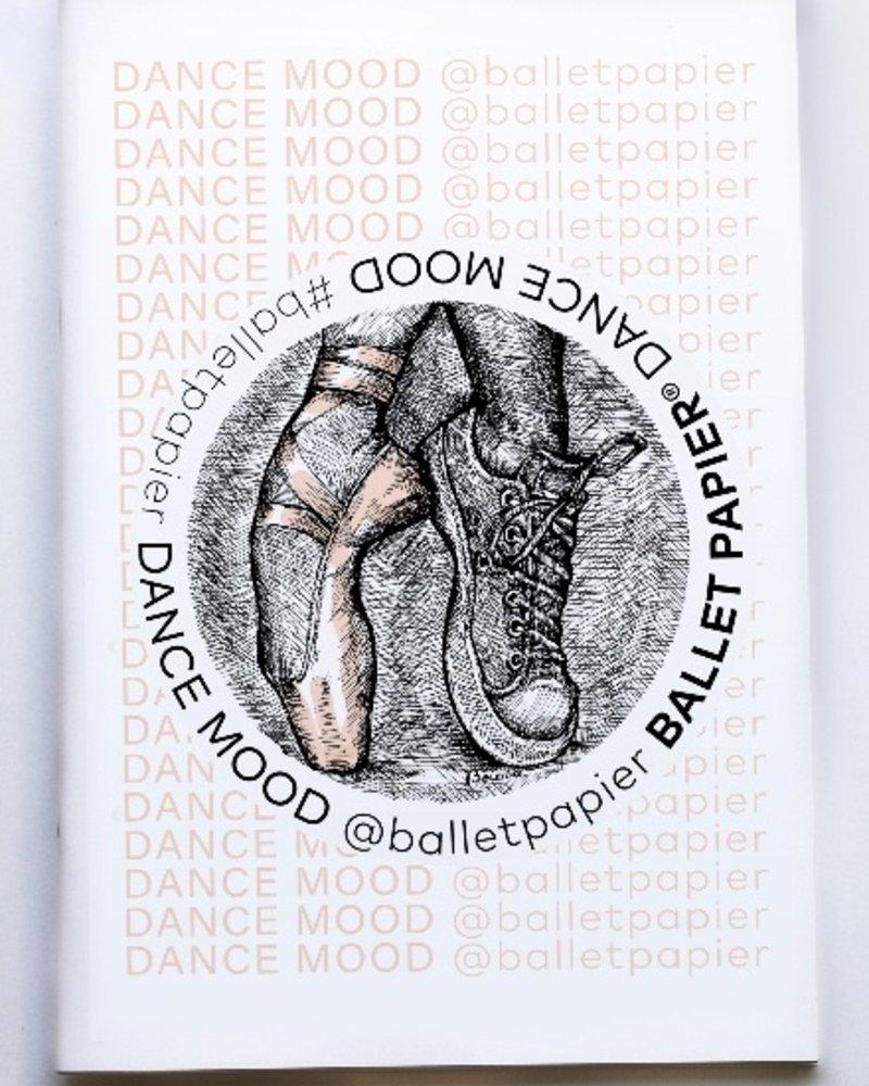 Ballet Papier Ballet Student Dance Mood A4 Notebook