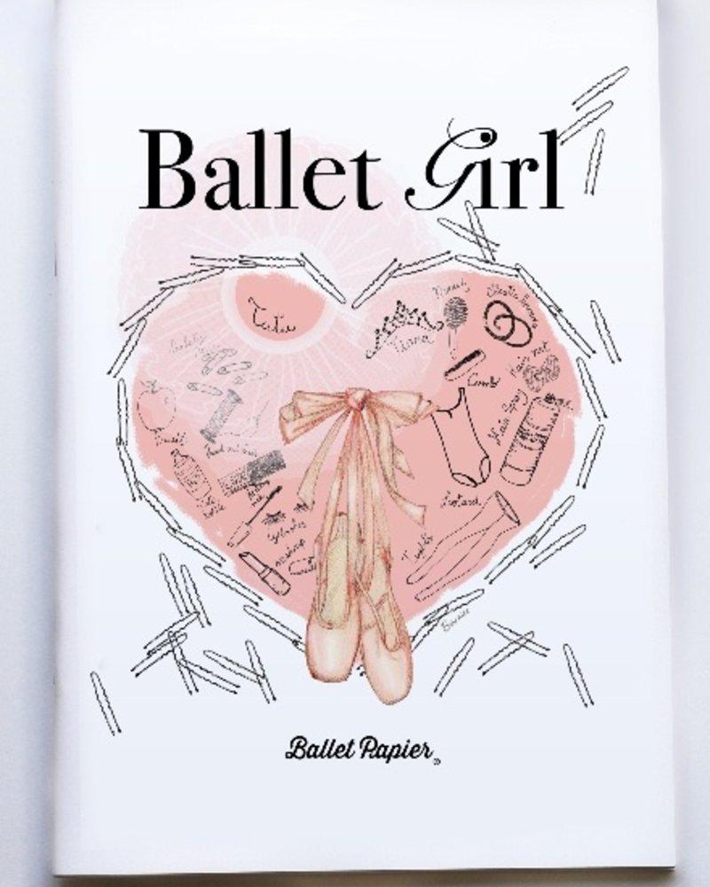 """Ballet Papier Ballet Student """"Ballet Girl"""" A4 Notebook"""