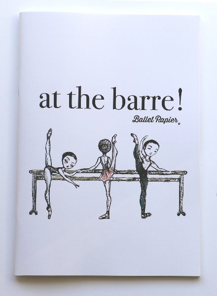 "Ballet Papier Ballet Student ""At the Barre!"" A4 Notebook"