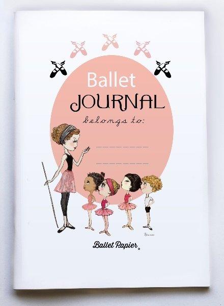 """Ballet Papier Ballet Student """"Ballet Journal"""" A4 Notebook"""