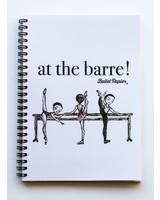 "Ballet Papier Ballet Student ""At the Barre!"" A5 Spiral Notebook"