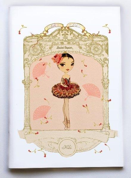 Ballet Papier Ballet Étoiles Kitri A4 Notebook