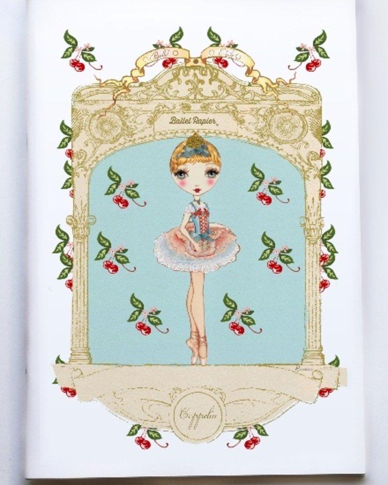 Ballet Papier Ballet Étoiles Coppelia A4 Notebook
