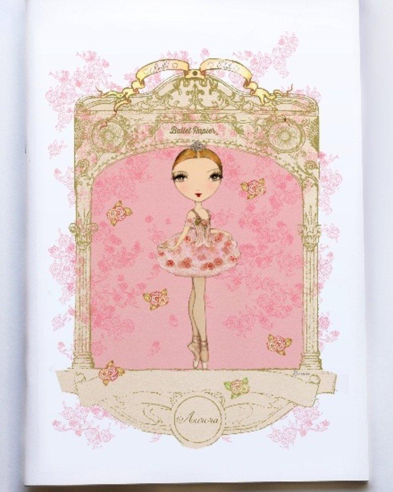 Ballet Papier Ballet Étoiles Aurora A4 Notebook