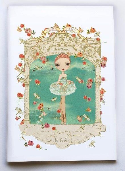 Ballet Papier Ballet Étoiles Ambar A4 Notebook