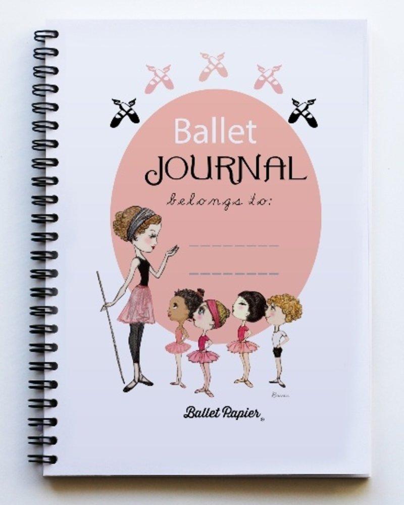 """Ballet Papier Ballet Student """"Ballet Journal"""" A5 Spiral Notebook"""