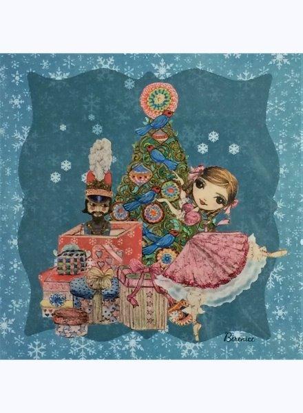 Ballet Papier The Nutcracker & Clara Greeting Card