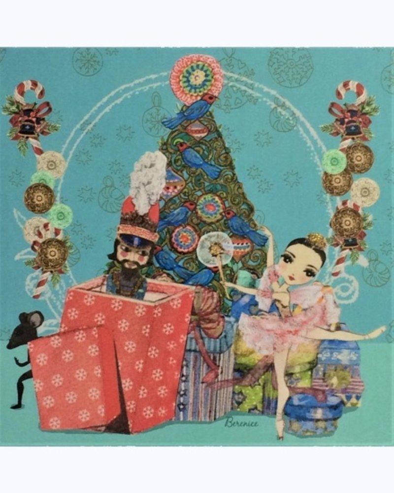 Ballet Papier The Nutcracker & Sugar Plum Fairy Greeting Card