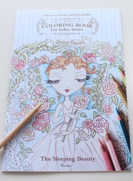 Ballet Papier The Sleeping Beauty Coloring Book by Ballet Papier