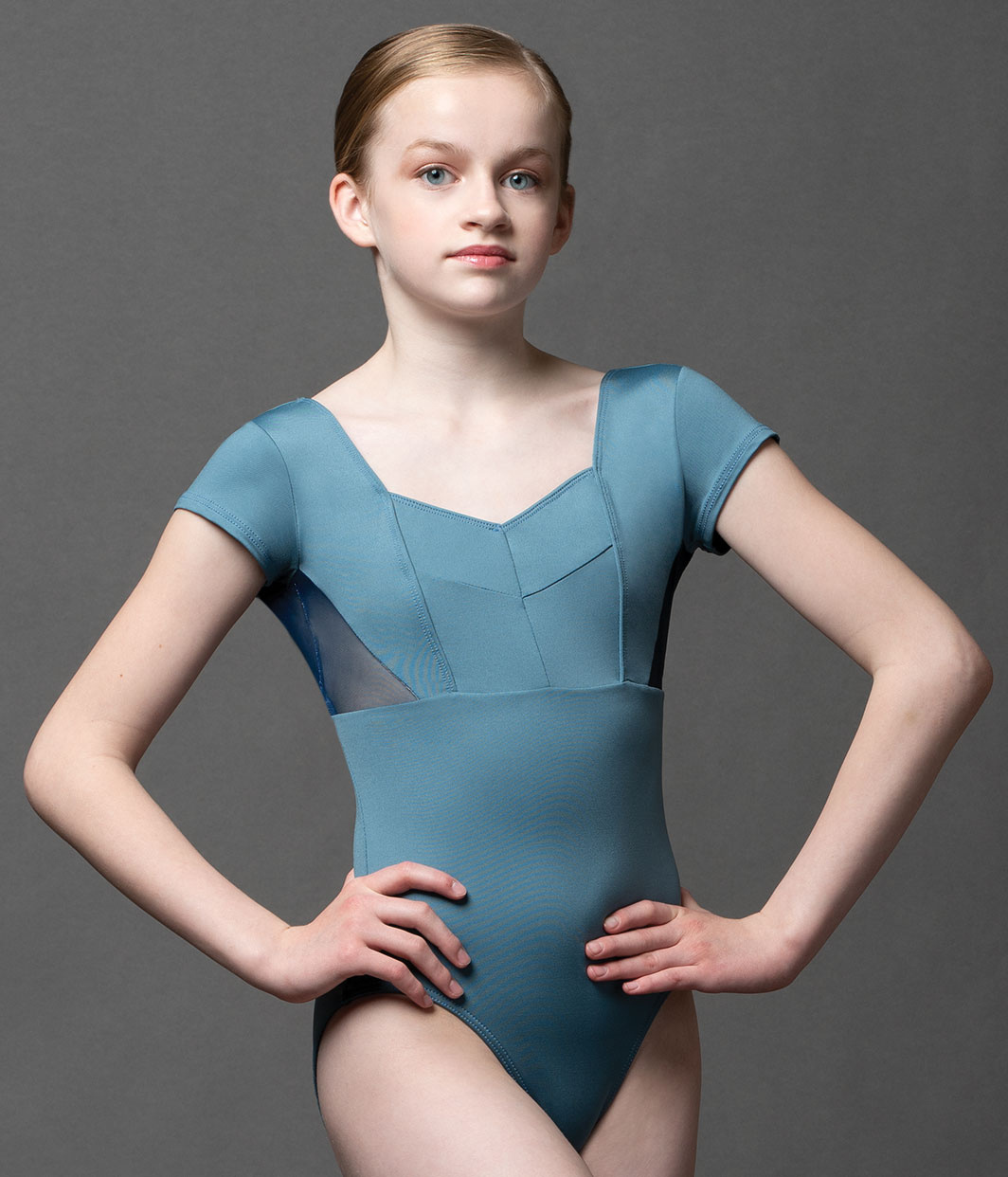 Body Shop Of Barrington >> Ultrasheen Mesh Sweetheart Cap Sleeve Leo - Allegro Dance ...