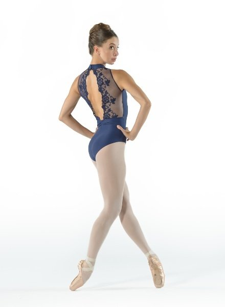 Ballet Rosa Amélie High Neck Leotard