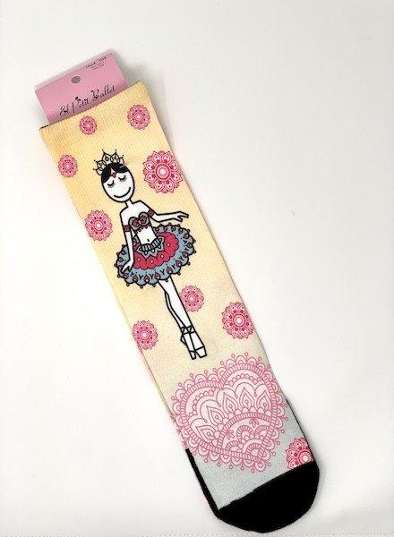 El Petit Ballet Calce Calf-length Socks La Bayadere