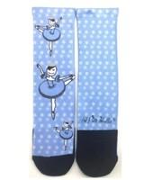El Petit Ballet Calce Calf-length Socks Snow Queen