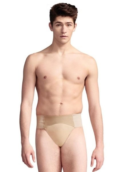 Capezio Quilted Cotton Thong Dance Belt
