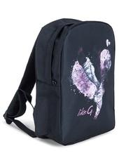 Like G Cou-de-Pied Heart Dance Backpack Black