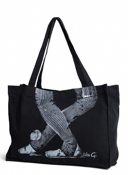 Like G Révérance Ballerina Tote Bag Black
