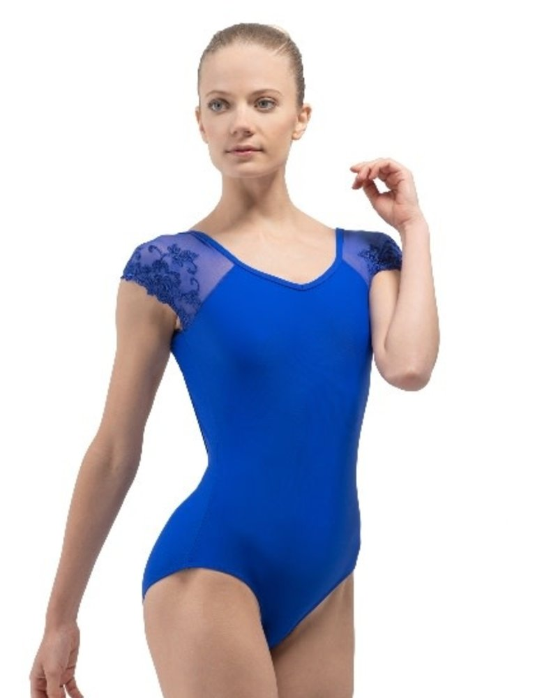 Ballet Rosa Josephine Youth Lace Cap Sleeve Leotard