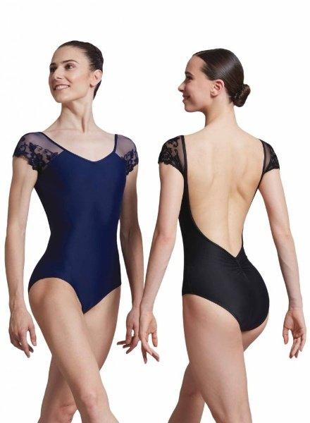 Ballet Rosa Josephine Adult Lace Cap Sleeve Leotard