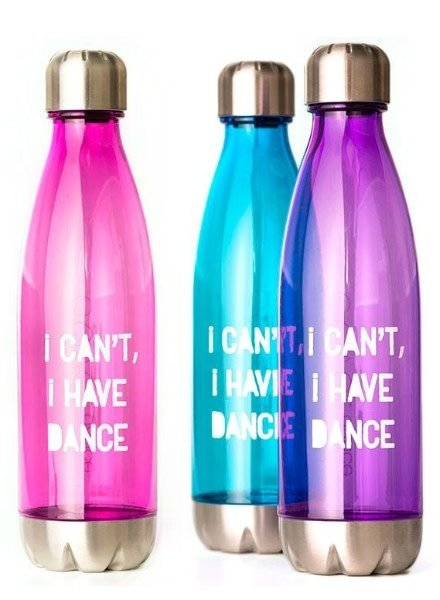 Covet Dance I Can't, I Have Dance Water Bottle