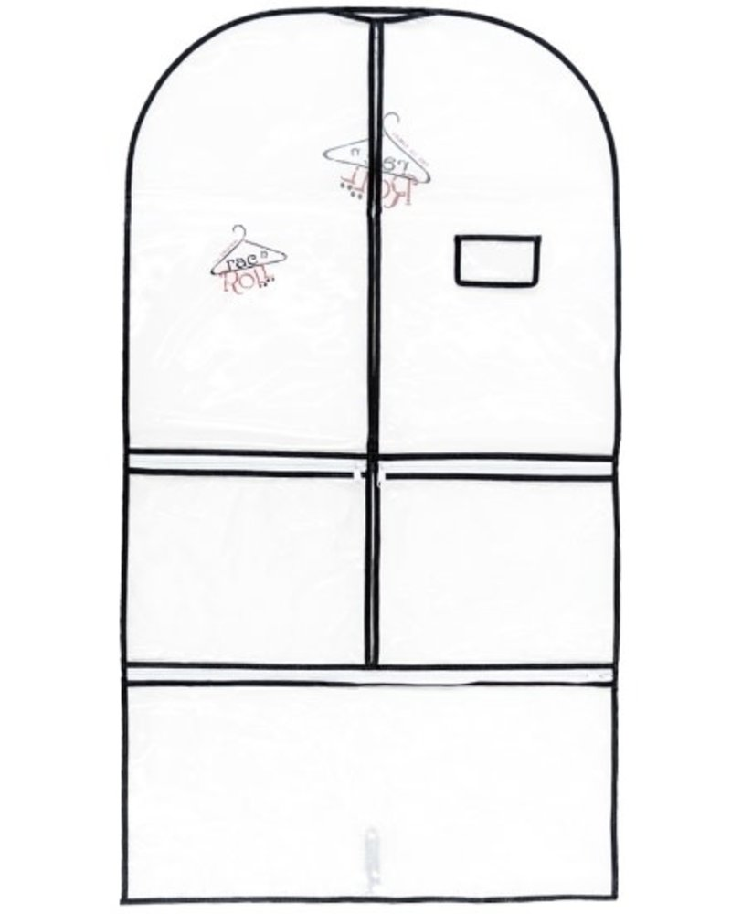 Rac N Roll Clear Woven Garment Bag