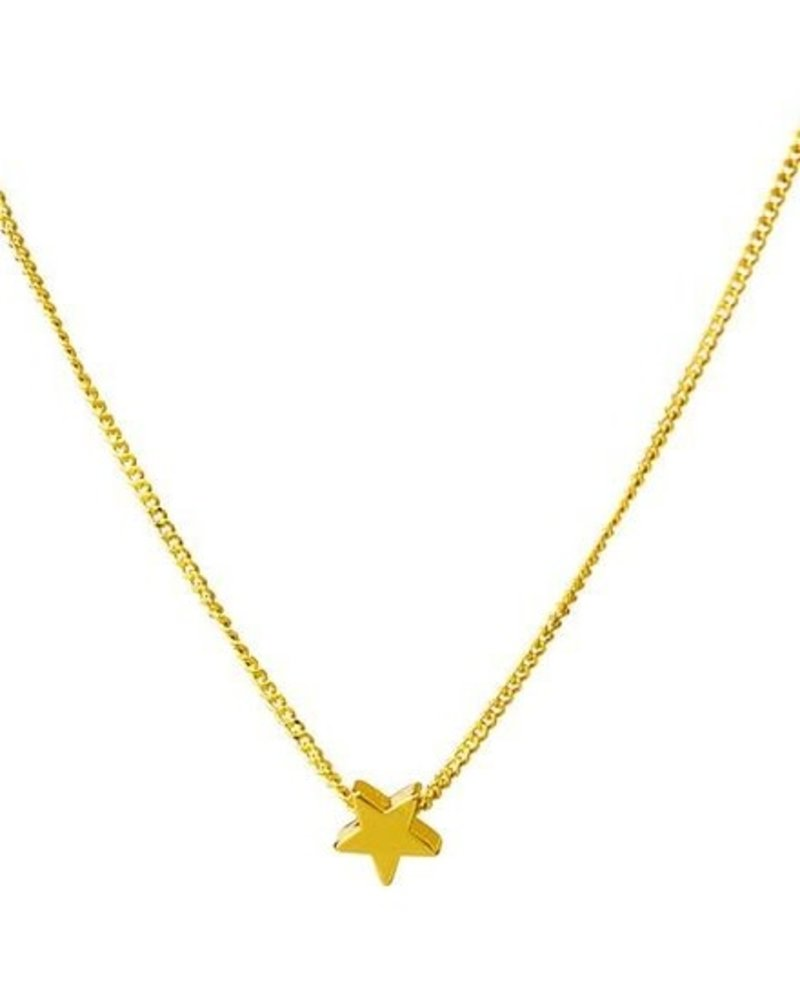 """Covet Dance Baby, You're a Star! Necklace w/ 18"""" Adj. Chain"""